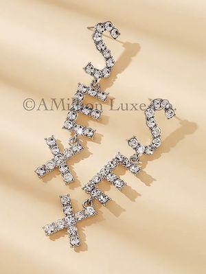 SEX Diamond Dazzling Earrings for Sale in Delray Beach, FL