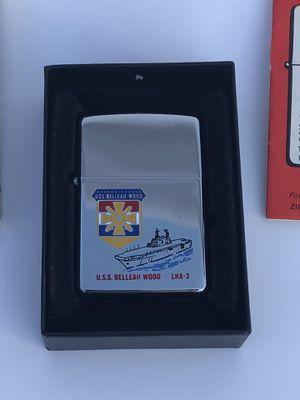 USS Belleau Wood Commemorative Zippo Lighter for Sale in Fresno, CA