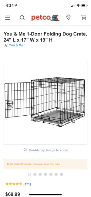 You & Me Dog Crate for Sale in Baltimore, MD