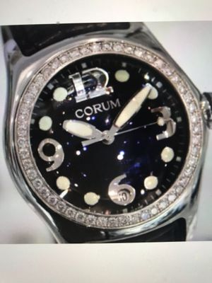 CORUM- Bubble Stainless Steel Diamond Bezel Ref 163.150.20 pre owned excellent condition MAKE OFFER! for Sale in Scottsdale, AZ