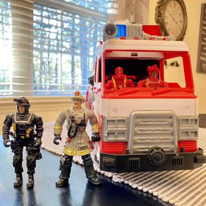 Fire Fighters & Fire Truck 🚒 for Sale in Durham, NC