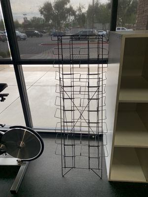 Collapsible Magazine Rack for Sale in Glendale, AZ