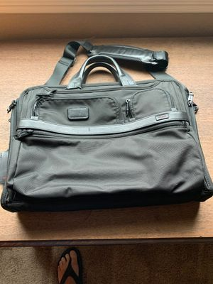 Tumi briefcase bag. This is the larger alpha 3 with laptop compartment. Good shape some minor scuffs from normal ware. for Sale in Fontana, CA