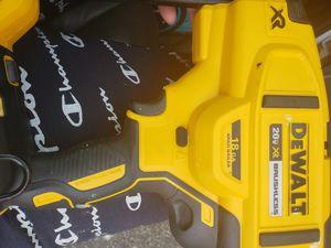 Dewalt 20 volt 18 ga finish nailer for Sale in Brockton, MA