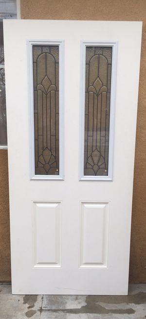 Exterior fiberglass door for Sale in Fontana, CA