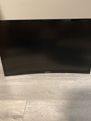 Samsung 23.5 inch curved monitor 60hz (no stand) for Sale in Torrance, CA