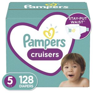 Pampers Cruisers Size 5 -pañales- Diapers for Sale in Downey, CA