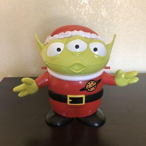 Disney Toy Story Christmas Alien Popcorn Bucket for Sale in Vista, CA