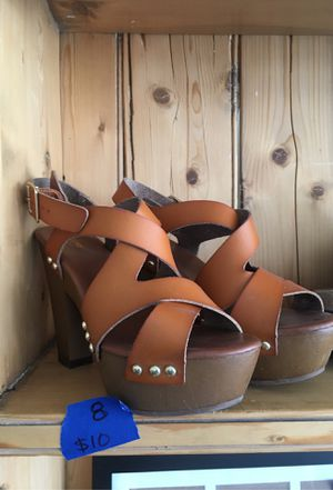 Cute sandals for Sale in Crawford, CO