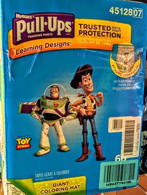 Huggies Pull Ups toy story 3t-4t ct 66 for Sale in Crete, IL