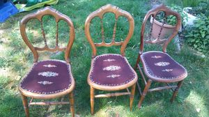 Three antique chairs for Sale in Portland, OR