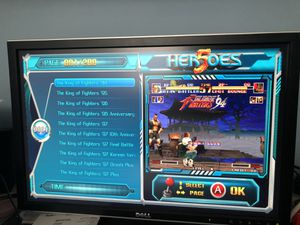 Pandora's Box Heroes 5, 2000 games in 1 Home Arcade Console for Sale in Aurora, IL
