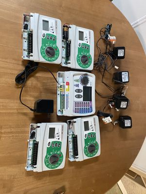 Sprinkler Controllers with power supplies and manuals for Sale in Carlsbad, CA