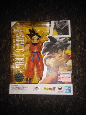 Dragonball Z Son Goku SHfiguarts anime figure for Sale in Marina del Rey, CA