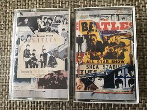 THE BEATLES ANTHOLOGY 1&2 CASSETTES for Sale in Ocean View, DE