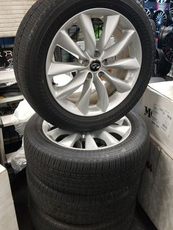"2019 Infiniti QX50 Factory 19"" Wheels and Bridgestone Runflat Tires for Sale in West Palm Beach,  FL"