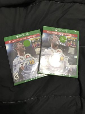 FIFA 2018 Both for $70/ 1 For $35 for Sale in Houston, TX