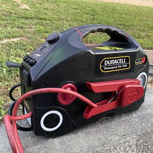 Duracell PowerPack Pro 1100 Jump Starter & Air Compressor for Sale in Clermont, FL