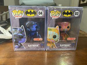 Target Exclusives Art Series Batman Versions 3 & 4 in Pop Protectors for Sale in Miami, FL