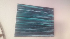 Painting with abstract art. 24x20 for Sale in Round Rock, TX