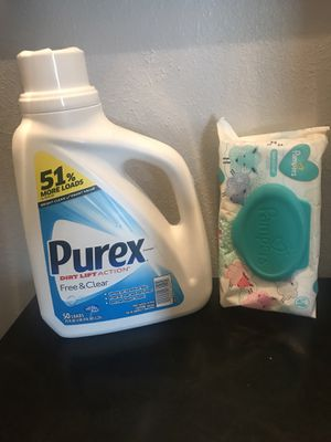 Sensitive laundry and wipes set NEW for Sale in Metairie, LA