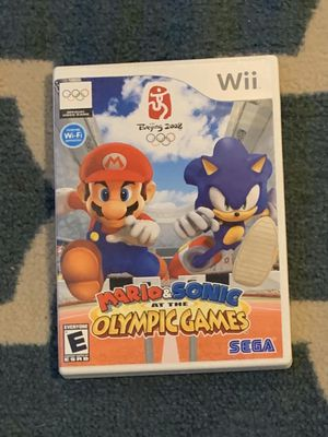 Mario and Sonic at the Olympic games Beijing 2008 for Sale in Orem, UT