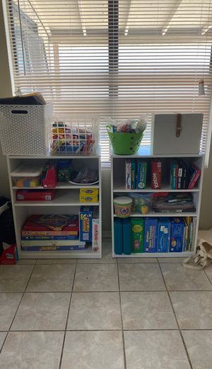 Identical bookshelves for Sale in Peoria, AZ