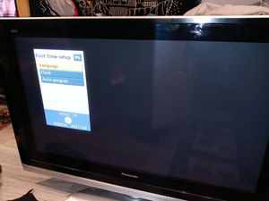 Panasonic flat screen tv 40 or 50 inch good tv workss well for Sale in Sunnyvale, CA