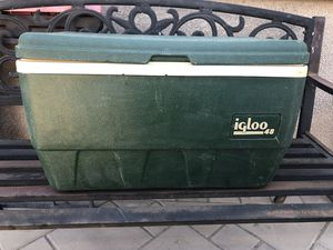 Green Igloo Cooler for Sale in Lathrop, CA