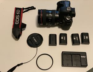 Canon 6D camera for Sale in New York, NJ