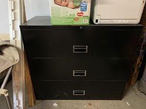 Filing cabinet for Sale in Fircrest, WA
