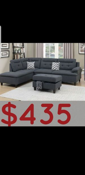 Brand new Sectional sofa with ottoman for Sale in Anaheim, CA