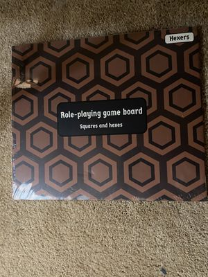 Hexers role playing game board for Sale in Hampton, VA