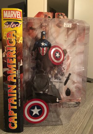 Captain America - Special Collector Edition Action Figure for Sale in Hollywood, FL