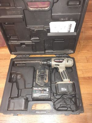 Porter cable 14.4 volt drill for Sale in Nashville, TN