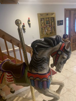 Carousel horse 6 feet tall post $5000 for Sale in Watertown, CT