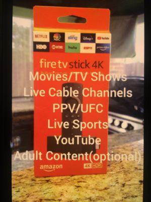 Amazon fire Tv 4K stick for Sale in Avondale, AZ