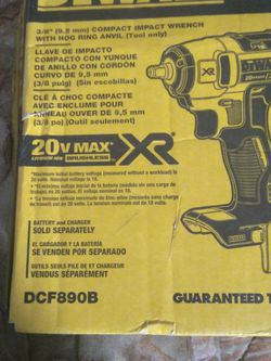 20v Max Xr Brushless Dewalt 3//8 Drill Battery for Sale in Raleigh,  NC