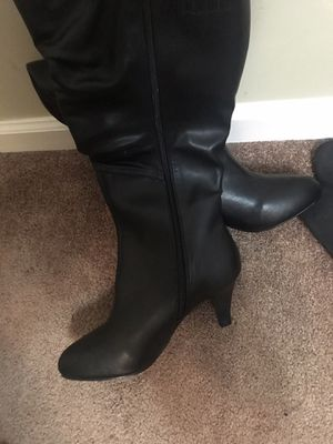 Brand new black fashion boots for Sale in Lexington, KY