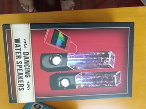 Dancing water speakers new for Sale in Fort Worth, TX