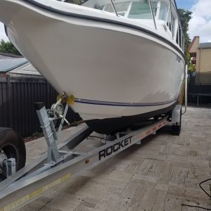 2005 29 Baja Cruiser Powered By Twin Verados Low Hours for Sale in Florida City, FL