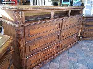 Solid wood dresser for Sale in Bartow, FL