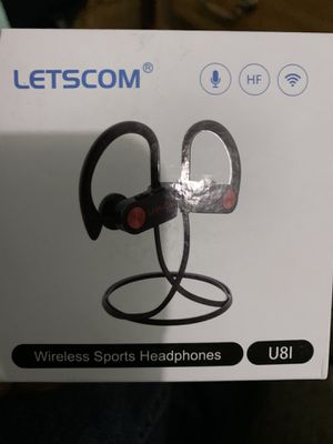 Wireless Sports Headphones Bluetooth (open box) new never used for Sale in Detroit, MI