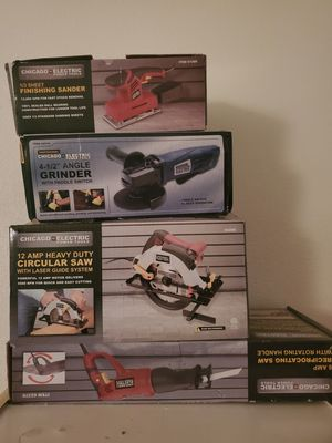 Chicago electric power tools for Sale in Los Angeles, CA