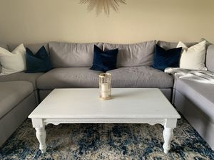 Farmhouse wood coffee table for Sale in Margate, FL