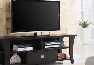 """Coaster Transitional 1-Drawer 60"""" TV Media Stand Console Cappuccino 700497 for Sale in Missouri City,  TX"""