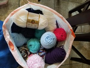FREE YARN - 3 bags full!! for Sale in Portland, OR