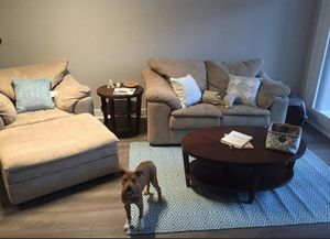 Couches - Loveseat, Chair, and Ottoman for Sale in Arlington, VA