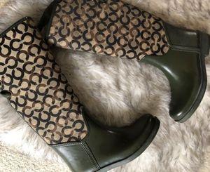 Coach rain boots for Sale in North Miami Beach, FL