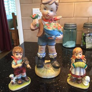 Genuine Erich Stauffer Figurine and Hummel-style figurines for Sale in Los Angeles, CA